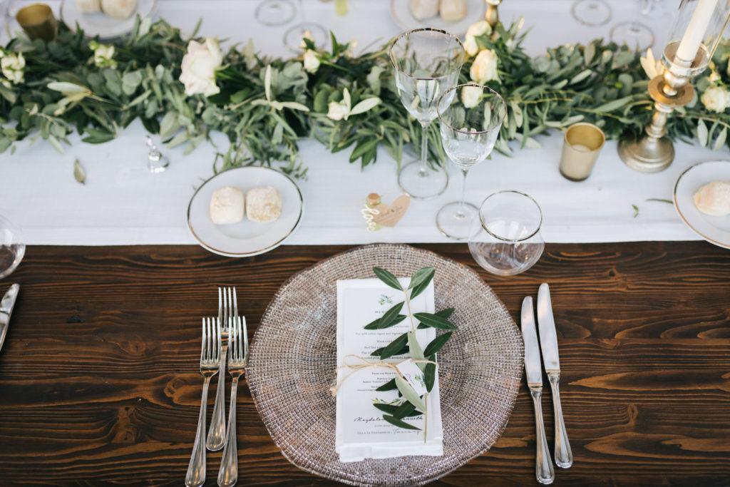 Mise en Place - Wedding at Villa Le Fontanelle - Italian Wedding Designer