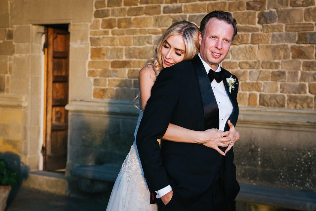 Bride & Groom portrait - Italian Wedding Designer - Wedding at Villa Le Fontanelle