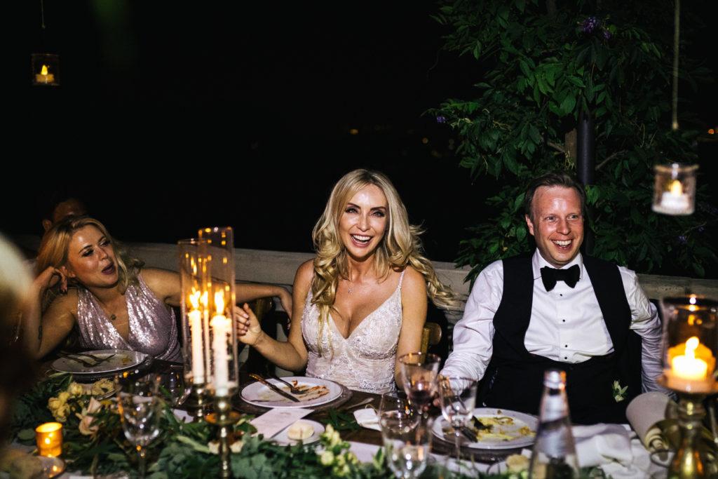 Speeches time - Italian Wedding Designer - Wedding at Villa Le Fontanelle