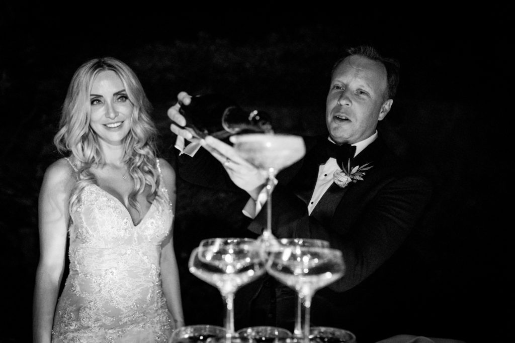 Champagne - Italian Wedding Designer - Wedding at Villa Le Fontanelle