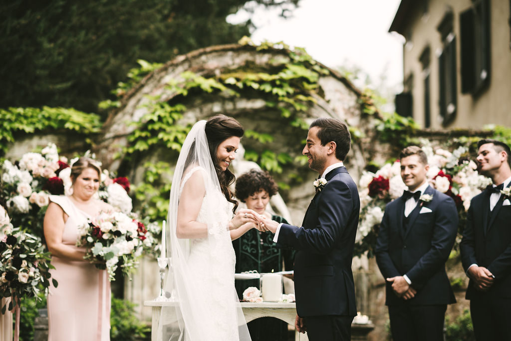 Symbolic Ceremony in Tuscany - Wedding at Villa La Selva - Italian Wedding Designer