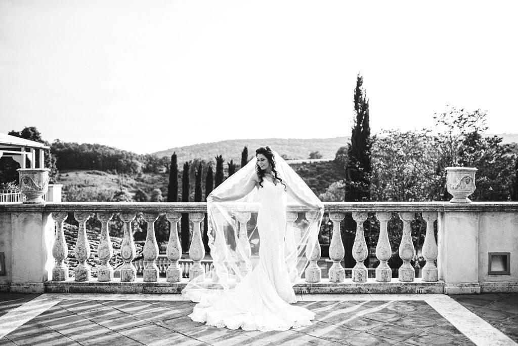Bride photo - Wedding at Villa La Selva - Italian Wedding Designer