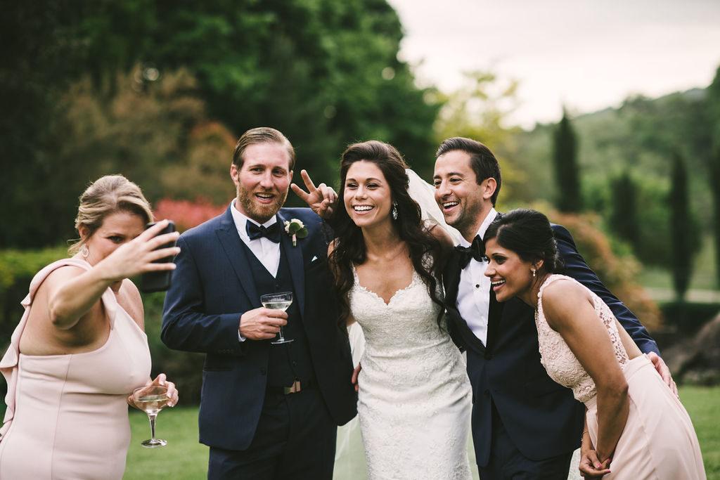 Funny moments - Wedding at Villa La Selva - Italian Wedding Designer