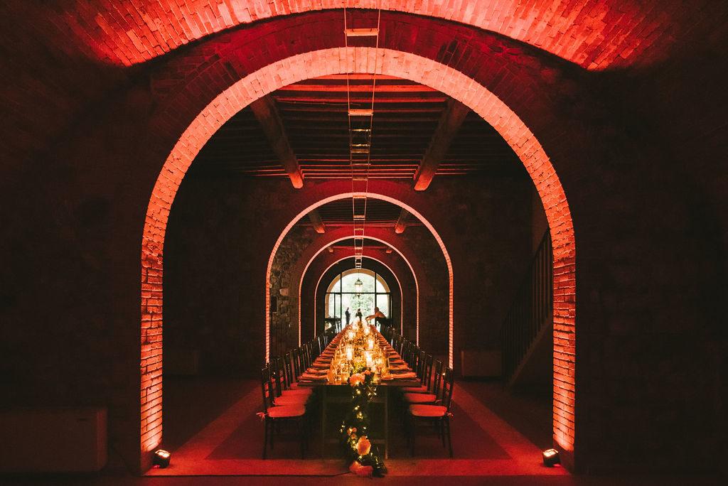Dinner - Wedding at Villa La Selva - Italian Wedding Designer