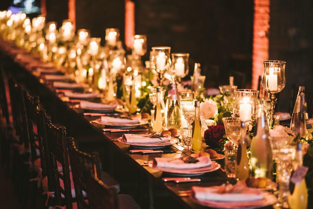 Table setting - Wedding at Villa La Selva - Italian Wedding Designer