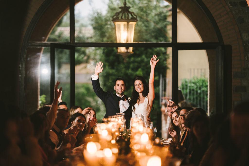 Bride and Groom - Wedding at Villa La Selva - Italian Wedding Designer