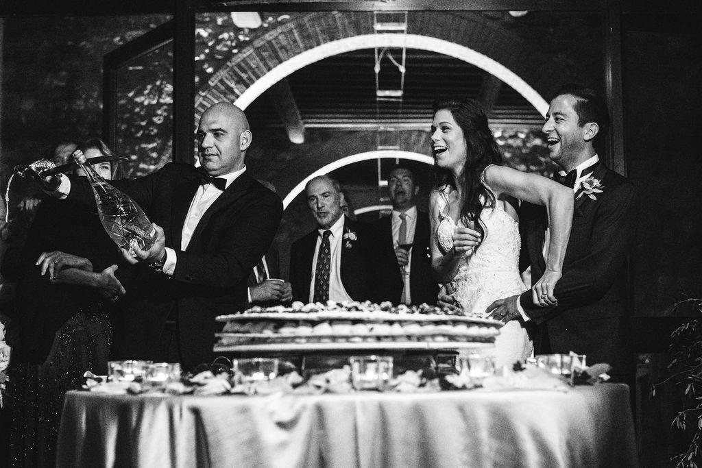 Italian Wedding Cake - Wedding at Villa La Selva - Italian Wedding Designer