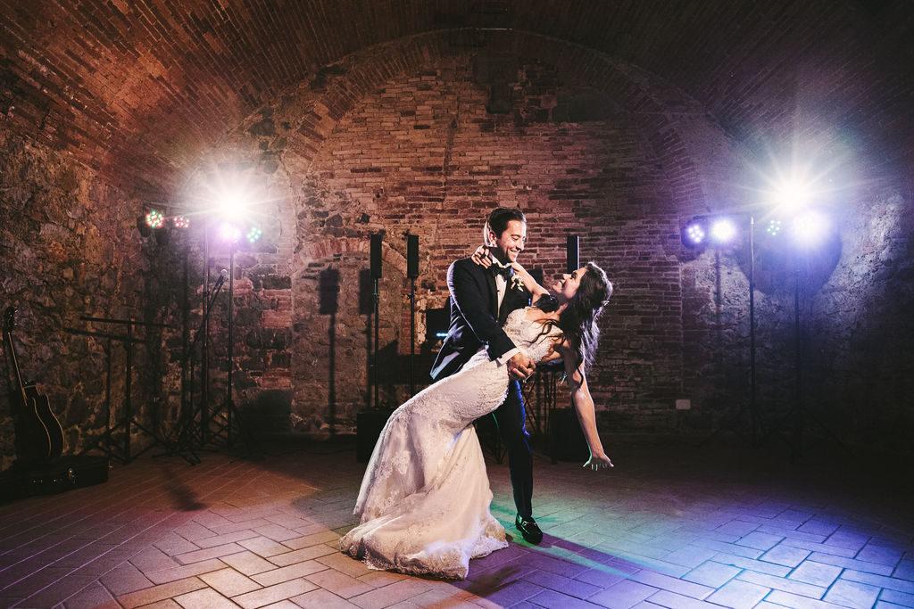 First Dance - Wedding at Villa La Selva - Italian Wedding Designer