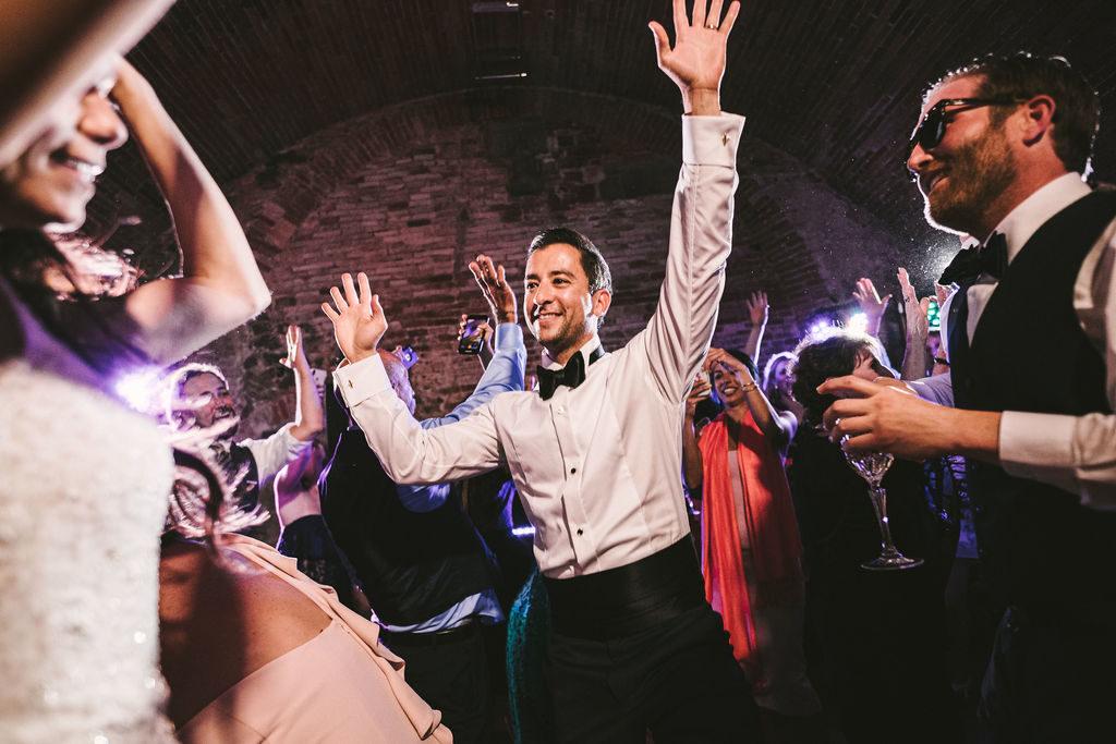 Dj set - Wedding at Villa La Selva - Italian Wedding Designer