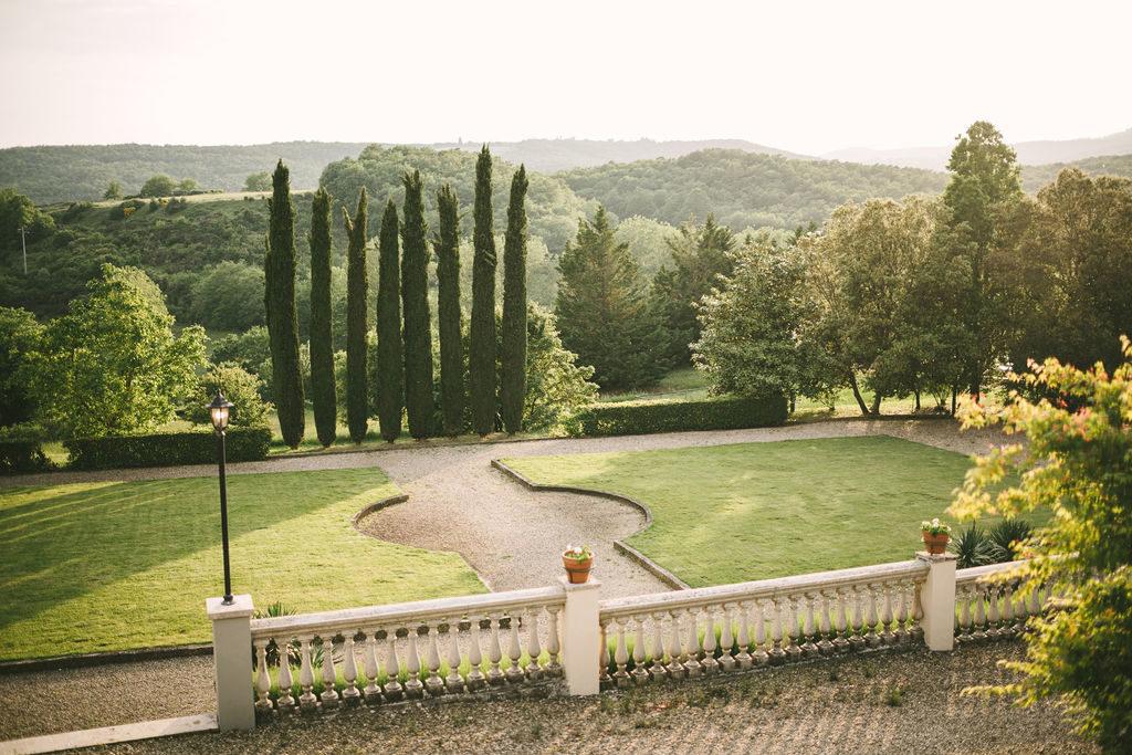 Tuscan Landscape Wedding at Villa La Selva - Italian Wedding Designer