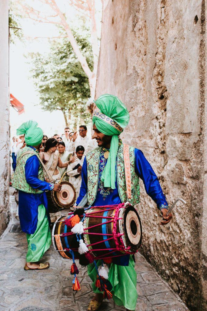 Barat - Hindu wedding at Hotel Caruso in Ravello - Italian Wedding Designer
