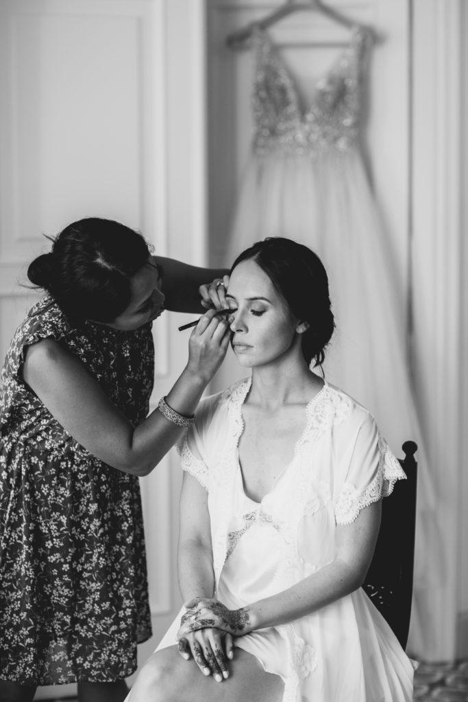 Bridal Make up - Hindu wedding at Hotel Caruso in Ravello - Italian Wedding Designer