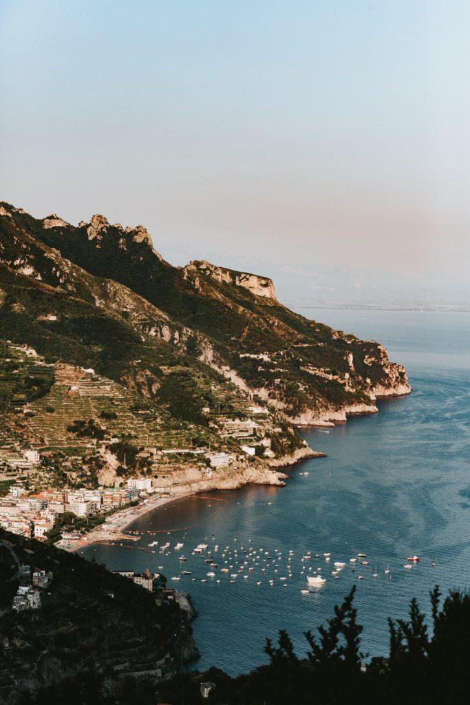 Amalfi Coast Landscape - Hindu wedding at Hotel Caruso in Ravello - Italian Wedding Designer