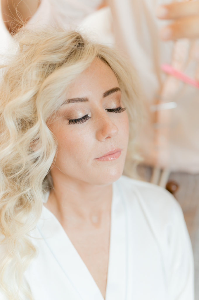 Bride hairstyle by Alessandro Mancino - Destination Wedding in Ravello - Italian Wedding Designer