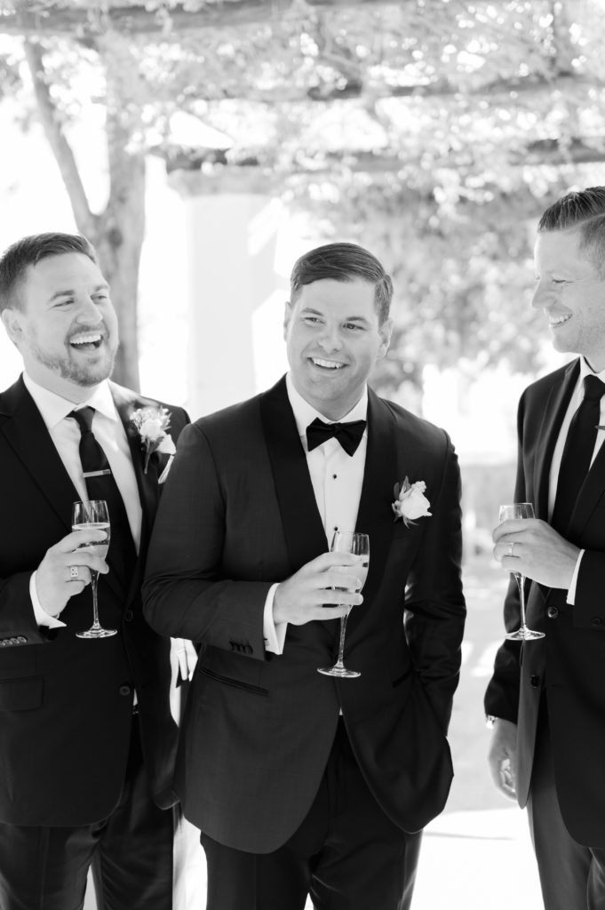Groom and Best men - Destination Wedding in Ravello - Italian Wedding Designer