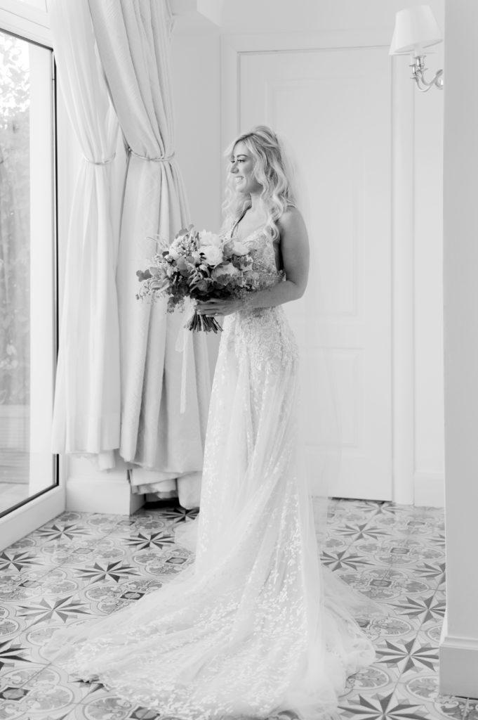 Bride at Belmond Hotel Caruso - Destination Wedding in Ravello - Italian Wedding Designer