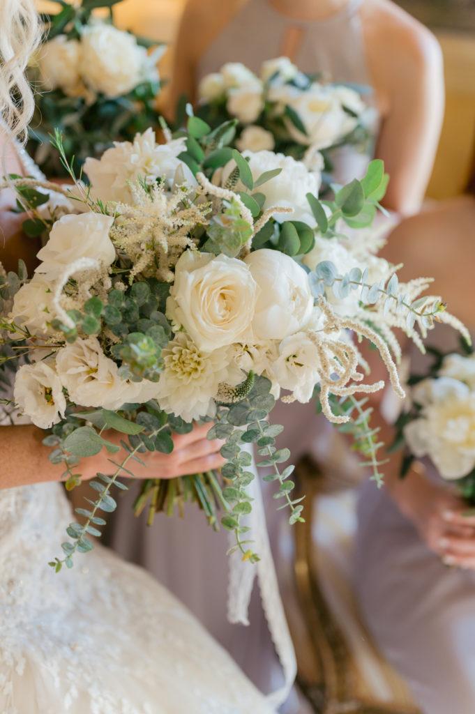 Bridesmaids Bouquets - Destination Wedding in Ravello - Italian Wedding Designer