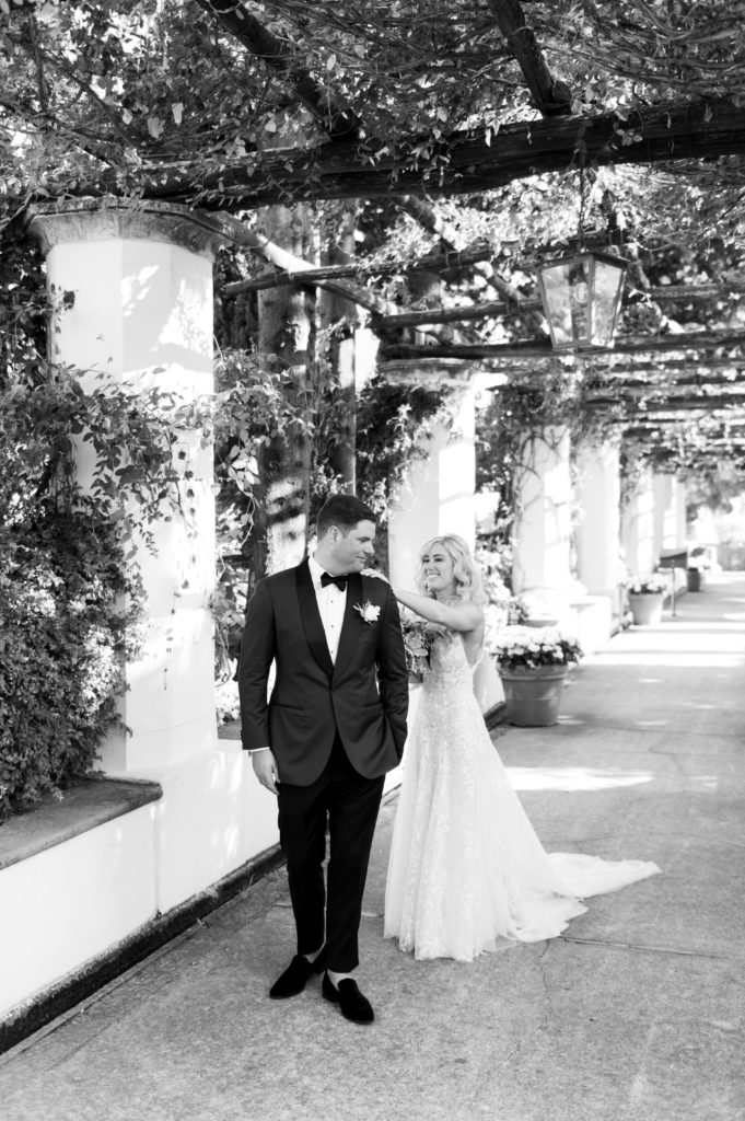 First Look at Hotel Caruso - Destination Wedding in Ravello - Italian Wedding Designer