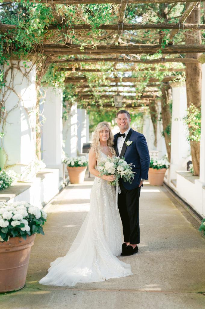 first portrait together - Destination Wedding in Ravello - Italian Wedding Designer