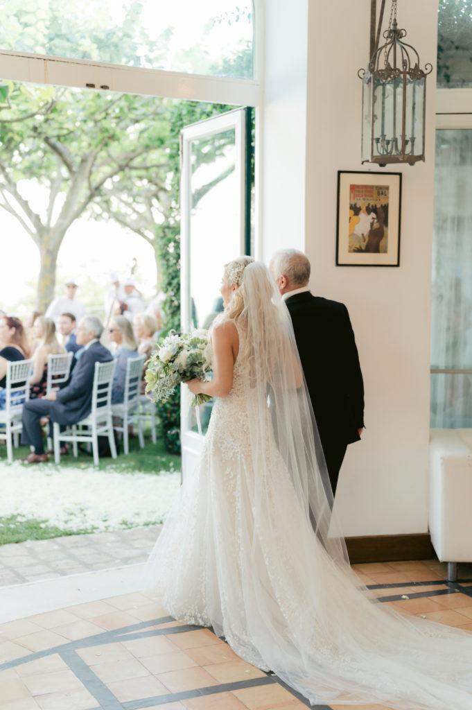 Bride entrance - Destination Wedding in Ravello - Italian Wedding Designer