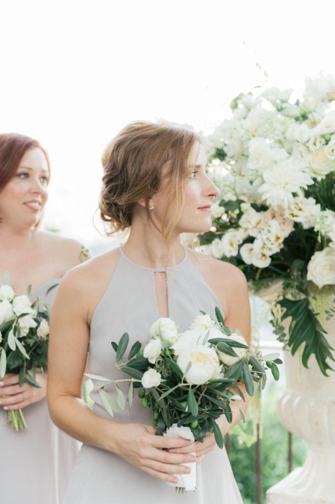 Bridesmaid in Villa Eva - Destination Wedding in Ravello - Italian Wedding Designer