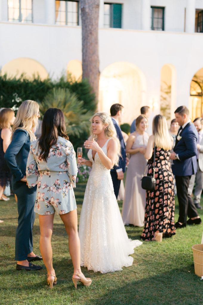 Aperitivo at Villa Eva - Destination Wedding in Ravello - Italian Wedding Designer