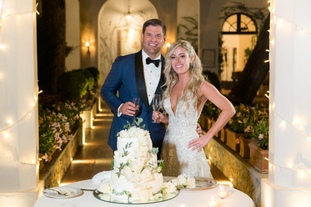 Bride and Groom - Destination Wedding in Ravello - Italian Wedding Designer