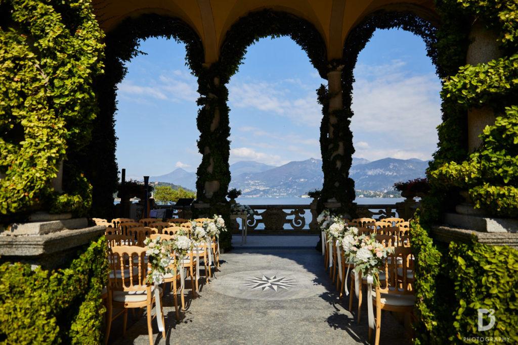Ceremony at Balbianello - Wedding at Villa Balbianello - Italian Wedding Designer