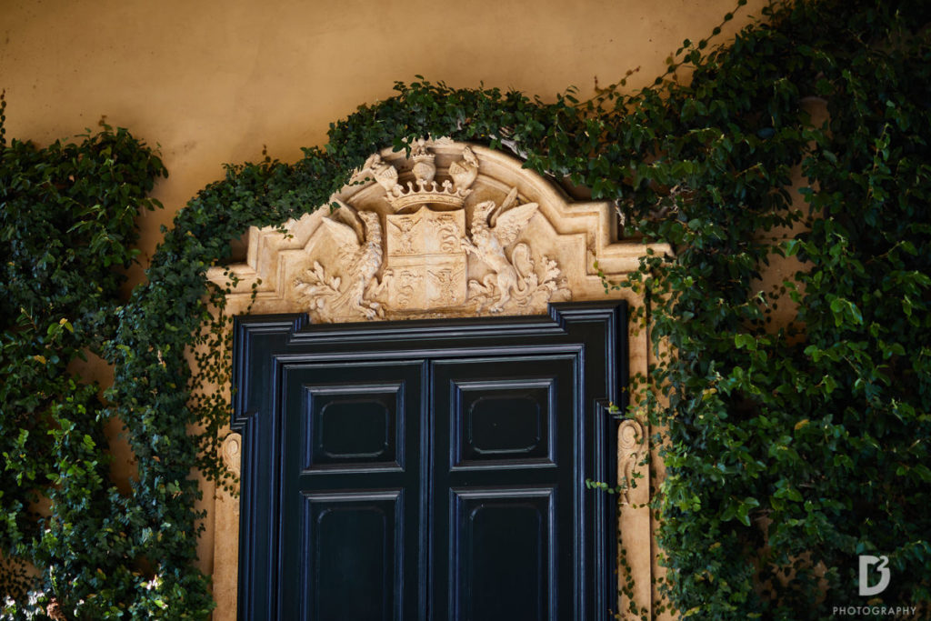 Loggia Durini details - Wedding at Villa Balbianello - Italian Wedding Designer