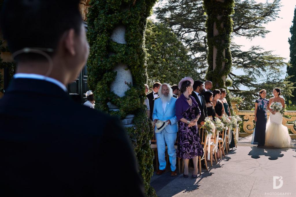 Symbolic ceremony - Wedding at Villa Balbianello - Italian Wedding Designer