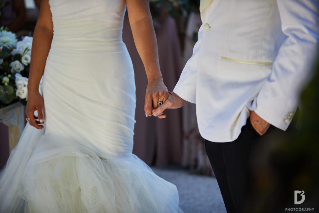 Newlyweds - Wedding at Villa Balbianello - Italian Wedding Designer