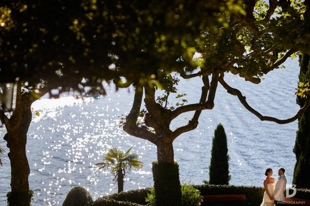 Newlyweds photo - Wedding at Villa Balbianello - Italian Wedding Designer