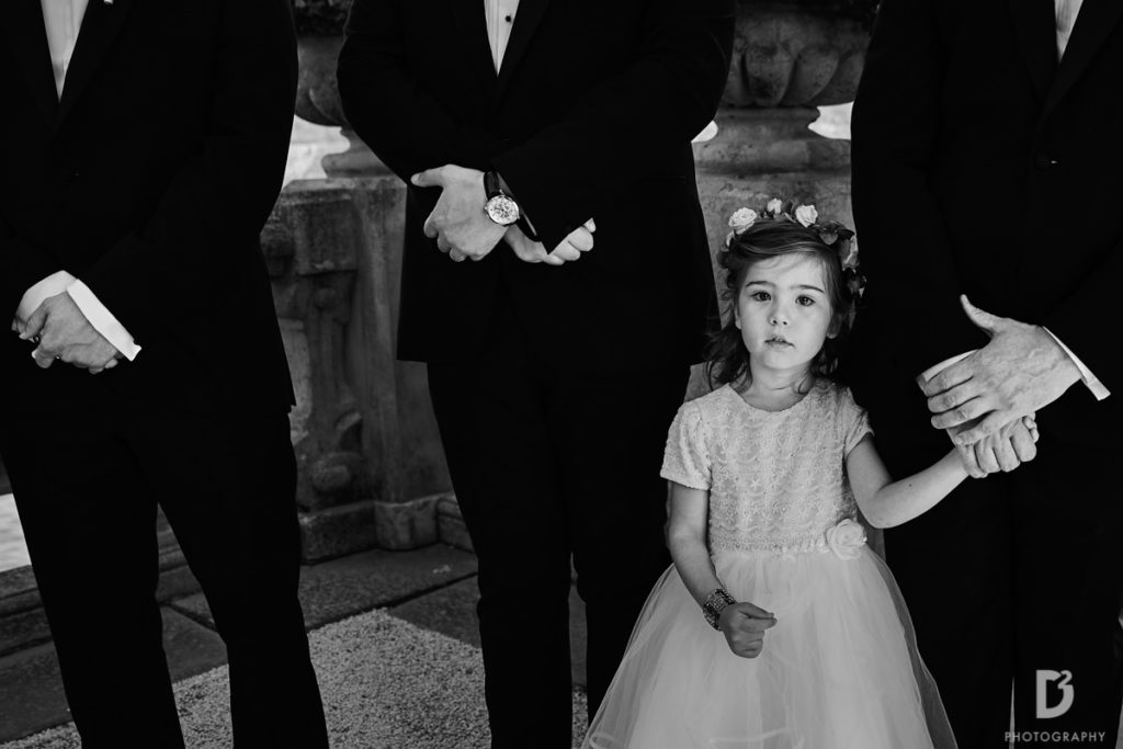Flowers girl - Wedding at Villa Balbianello - Italian Wedding Designer
