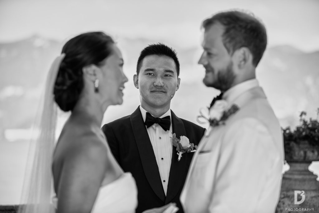 Civil Ceremony - Wedding at Villa Balbianello - Italian Wedding Designer