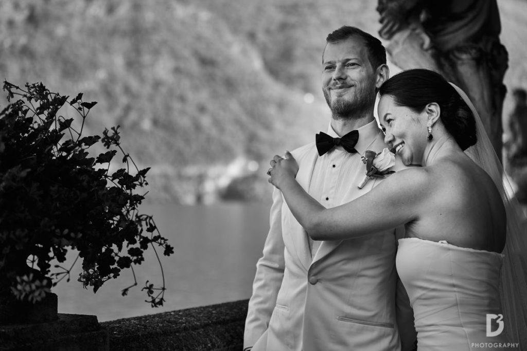 Bride and Groom - Wedding at Villa Balbianello - Italian Wedding Designer