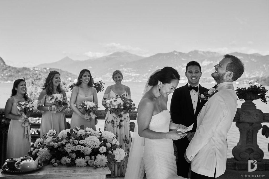 Ceremony speech - Wedding at Villa Balbianello - Italian Wedding Designer