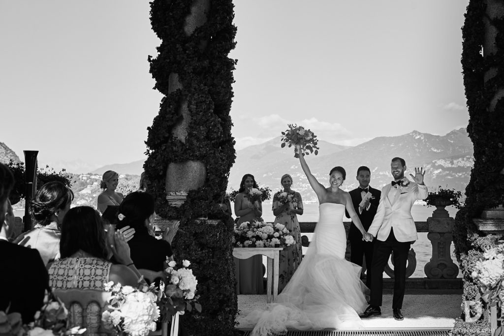 Recessional - Wedding at Villa Balbianello - Italian Wedding Designer