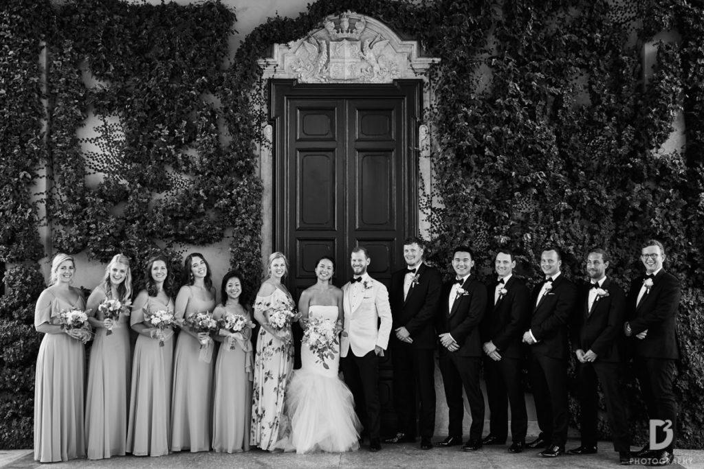 Wedding party - Wedding at Villa Balbianello - Italian Wedding Designer