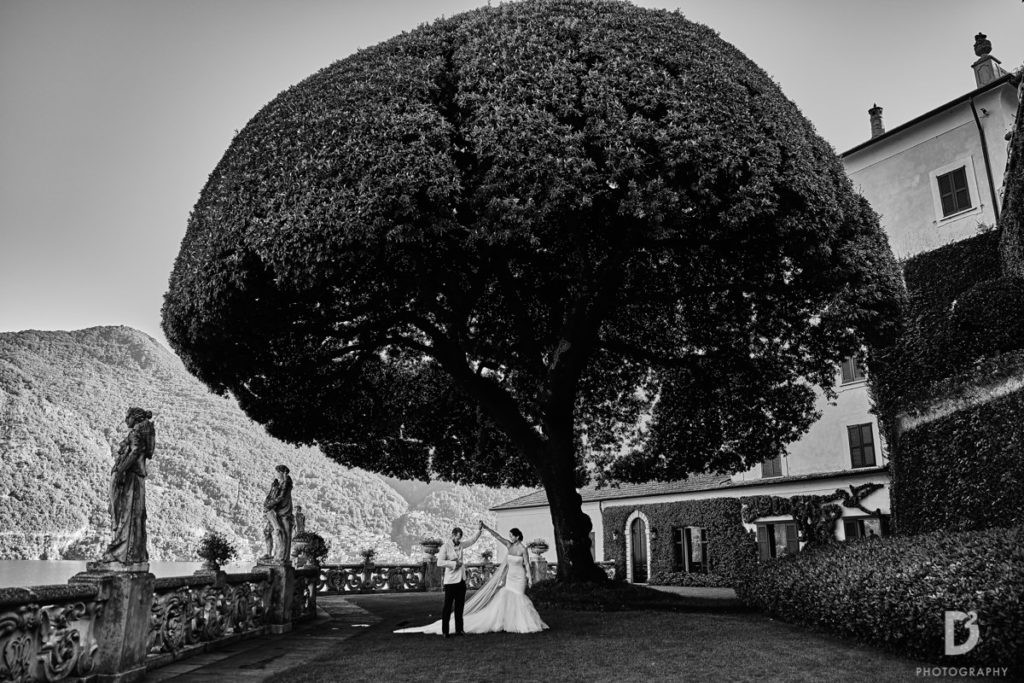 Low garden - Wedding at Villa Balbianello - Italian Wedding Designer