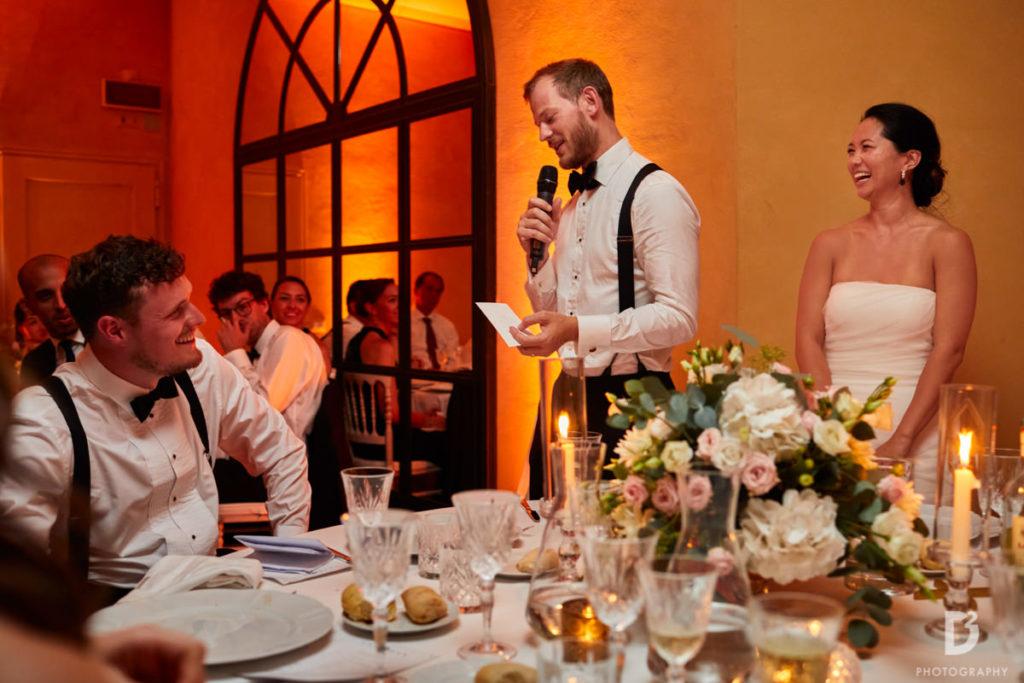 Groom'speech - Wedding at Villa Balbianello - Italian Wedding Designer