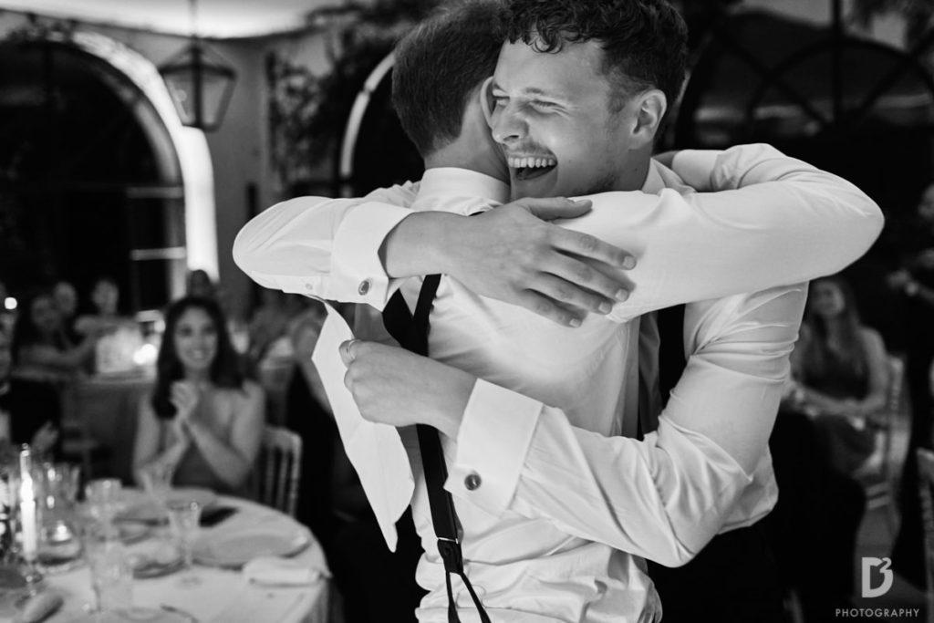 Hugs - Wedding at Villa Balbianello - Italian Wedding Designer