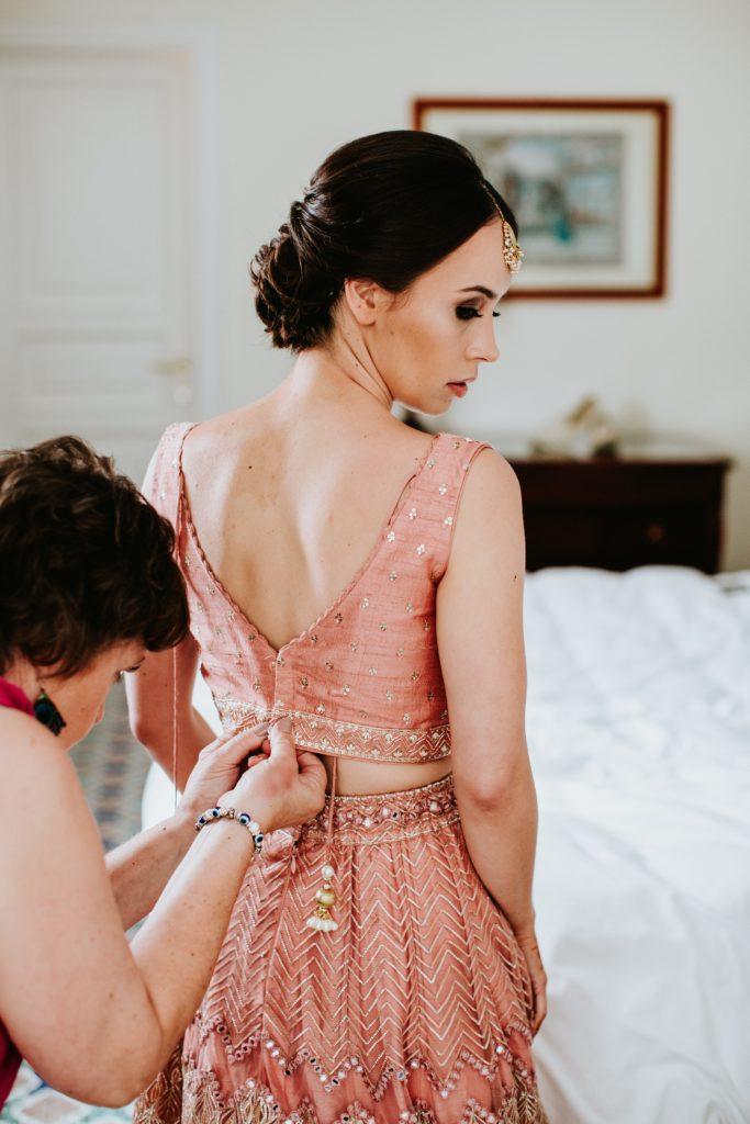 Indian Sari - Hindu wedding at Hotel Caruso in Ravello - Italian Wedding Designer