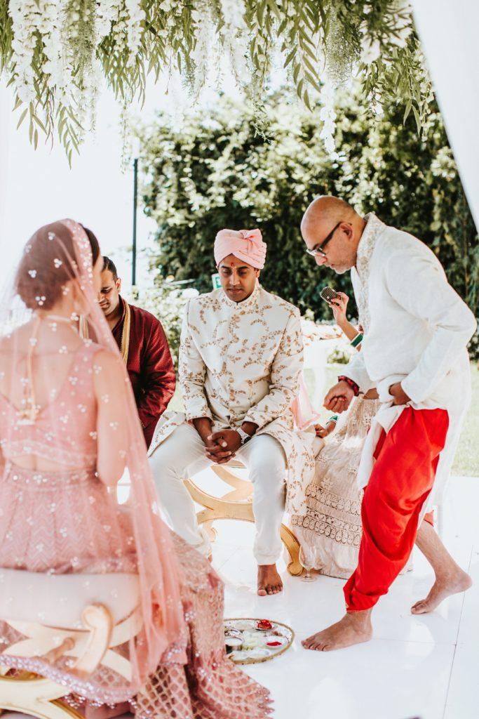 Hindu Ceremony - Hindu wedding at Hotel Caruso in Ravello - Italian Wedding Designer