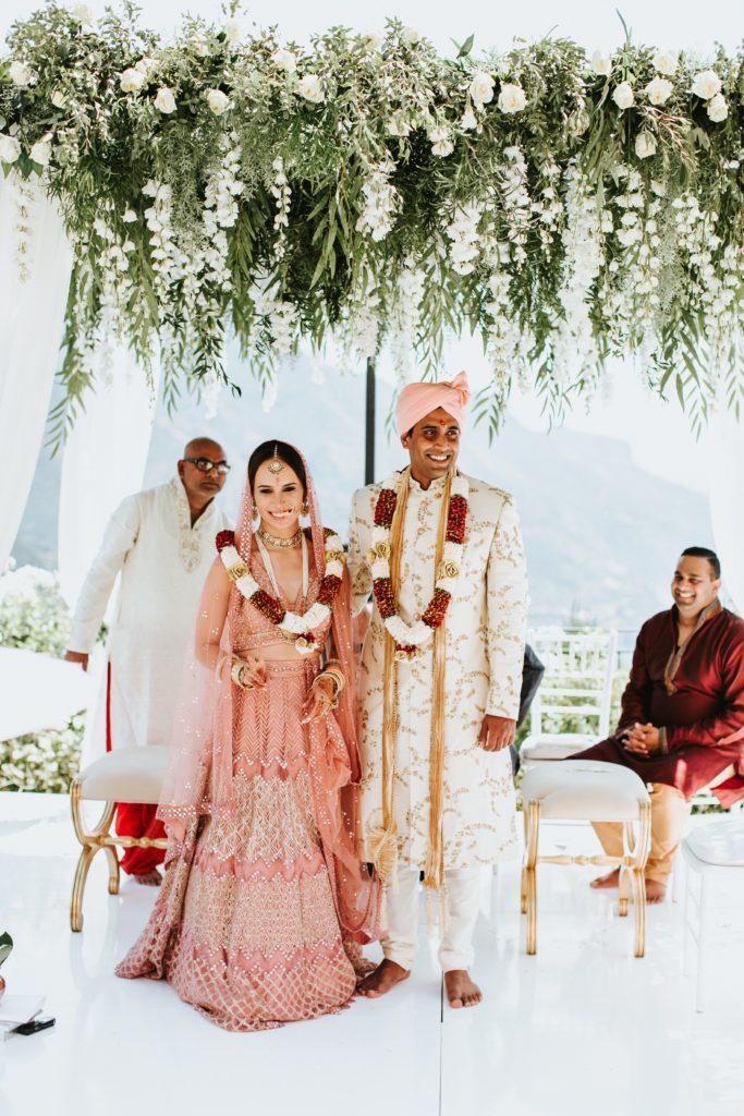 Hindu traditions - Hindu wedding at Hotel Caruso in Ravello - Italian Wedding Designer