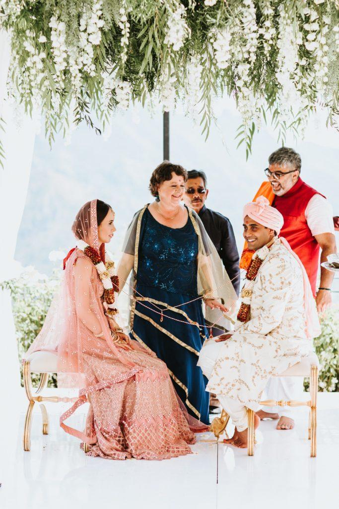 Hindu Ceremony - - Hindu wedding at Hotel Caruso in Ravello - Italian Wedding Designer