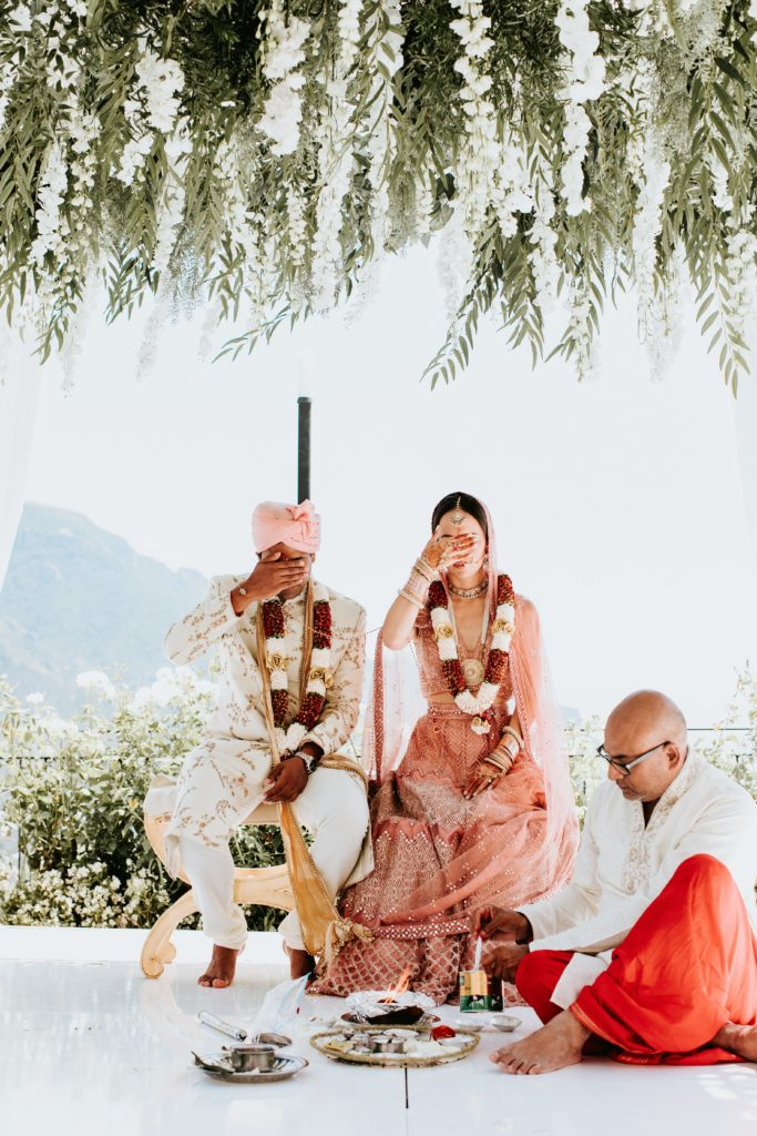 Hindu Decoration - Hindu wedding at Hotel Caruso in Ravello - Italian Wedding Designer